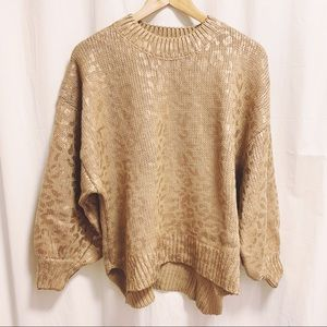 London Grace Collection Knit M/L Randi Sweater NWT